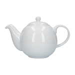 London Pottery Globe Teapot 2 Cup White