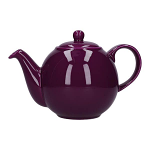 London Pottery Globe Teapot 2 Cup Purple