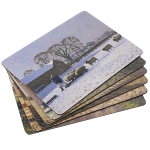 Stow Green Country Life Placemats Set of 6