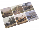 Stow Green Country Life Coasters Set of 6