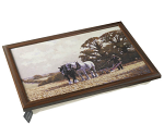 Stow Green Country Life Lap Tray - Walk On Ploughing