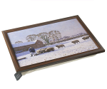 Stow Green Country Life Lap Tray - Winter Rations Sheep