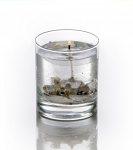 Stoneglow Candles Non Fragranced Snow Scene Gel Tumbler
