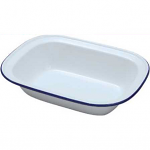 Falcon Enamel Oblong Pie Dish 22cm (44022)