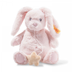 Steiff Soft Cuddly Friends Belly Rabbit Music Box 26cm