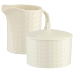 Belleek Living Grafton Sugar & Creamer Set