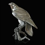 Richard Cooper Studio - Nickel Plated Resin - Falcon