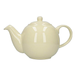 London Pottery Globe Teapot 4 Cup Ivory