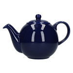 London Pottery Globe Teapot 4 Cup Cobalt Blue