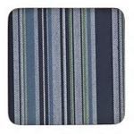 Denby Black Stripe Coasters Set of 6