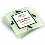 Set of 4 Photo Frame Coasters - Dogs