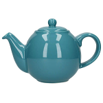 London Pottery Globe Teapot 6 Cup Aqua