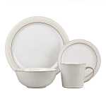 Denby Natural Canvas 16 Piece Tableware Set