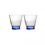 Denby Imperial Blue Small Tumbler Set of 2 Boxed