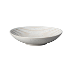 Denby Studio Blue Chalk Medium Ridged Bowl