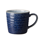 Denby Studio Blue Cobalt & Pebble Ridged Mug