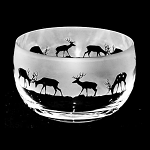 Animo Glass - Stag Small Bowl