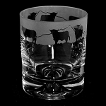 Animo Glass - Highland Cow Whisky Tumbler
