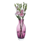 Dartington Amphora Amethyst Tall Vase
