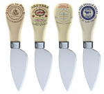 Gourmet Cheese - Set of 4 Cheese Knives
