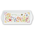 Cooksmart - Bee Happy Plastic Tray - Small