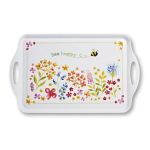 Cooksmart - Bee Happy Plastic Tray - Large