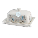 Cooksmart On a Frosty Winter Morning Butter Dish