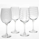 Mikasa Cheers White Wine Glasses 450ml Set of 4