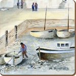 Cornish Harbour - Creative Tops  6 Premium Coasters