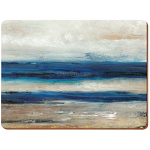 Blue Abstract Ocean View - Creative Tops 6 Premium Tablemats