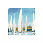 Sailing Boats - Creative Tops  6 Premium Coasters