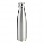 Built Double Walled Stainless Steel Water Bottle 17oz 48cl Silver