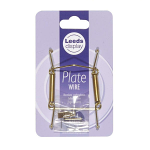 Leeds Display Plate wire No 1 - 9-13cm Brass