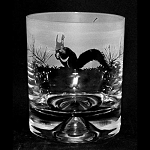 Animo Glass - Squirrel Whisky Tumbler