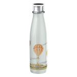 Built Double Walled Stainless Steel Water Bottle 17oz 500ml V&A Hot Air Balloon Design