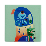 Maxwell & Williams Pete Cromer Ceramic Coaster - Lorikeet 9.5cm