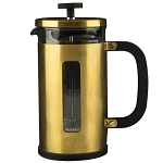 La Cafetiere Pisa 8 Cup Cafetiere Brushed Gold