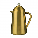 La Cafetiere Thermique 8 Cup Double Walled Cafetiere Brushed Gold