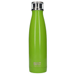 Built Double Walled Stainless Steel Water Bottle 17oz Green