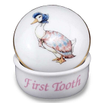 Beatrix Potter Jemima Puddleduck First Tooth and Curl Box