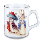 Beatrix Potter Peter Rabbit & Friends Collectors Mug