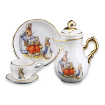 Beatrix Potter Peter Rabbit Classic Miniature Tea Pot Set
