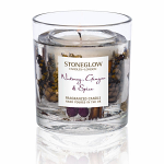 Stoneglow Candles Nutmeg Ginger & Spice Natural Wax Tumbler