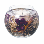 Stoneglow Candles Nutmeg Ginger & Spice Natural Wax Fish Bowl