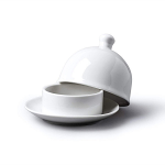 W M Bartleet & Sons Butter Pat with Lid (9x8cm)