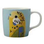 Maxwell & Williams Pete Cromer Mug - Budgerigar 375ml