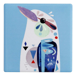Maxwell & Williams Pete Cromer Ceramic Coaster - Kookaburra 9.5cm