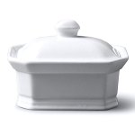 W M Bartleet & Sons Terrine/Butter Dish with Lid (11x8x6cm)