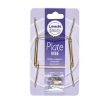 Leeds Display Plate wire No 2 - 13-19cm Brass