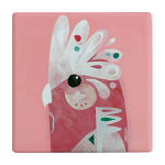 Maxwell & Williams Pete Cromer Ceramic Coaster - Galah 9.5cm
